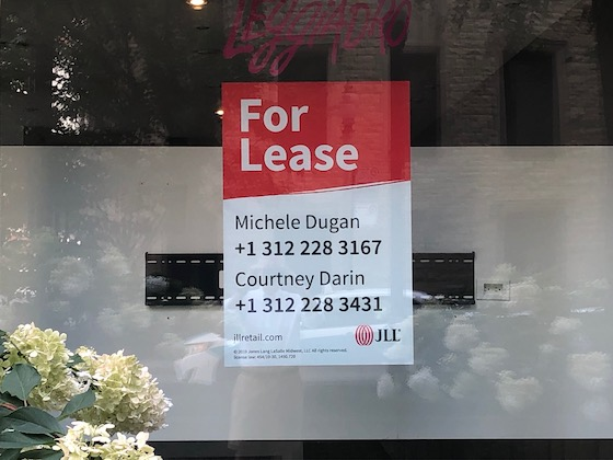 Rent Vacant Window Sign