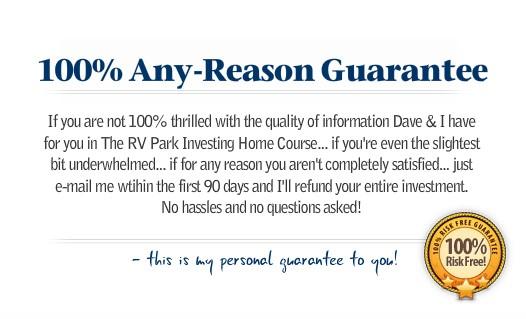 rv park course Guarantee