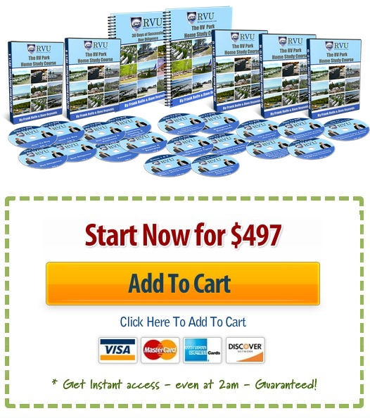 rv park investing home study course price