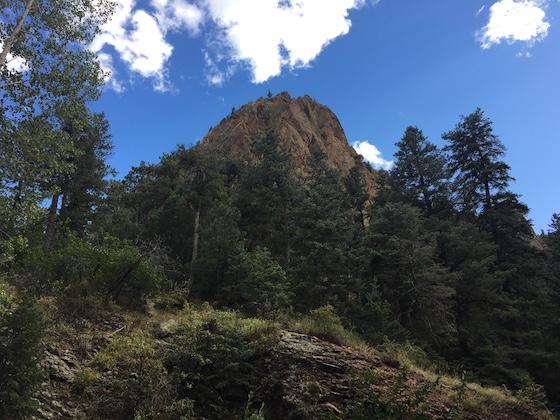 mountain near rv park