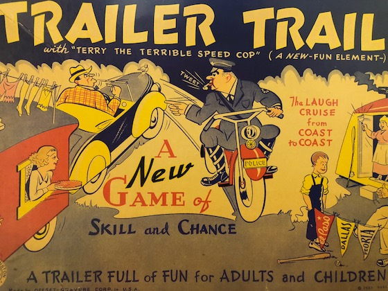 trailer trail boardgame