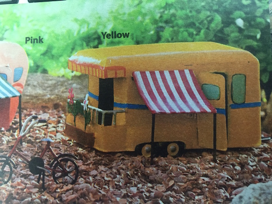 Yellow Toy RV