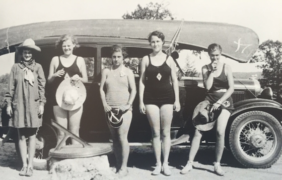 1920's Family in RV Park