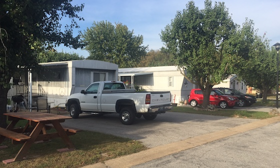 mobile homes in rv park
