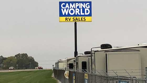 camping world sign